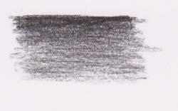black pastel on paper