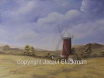 workshop landscape in oils